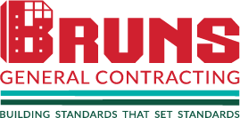 Brun's General Contracting logo in color